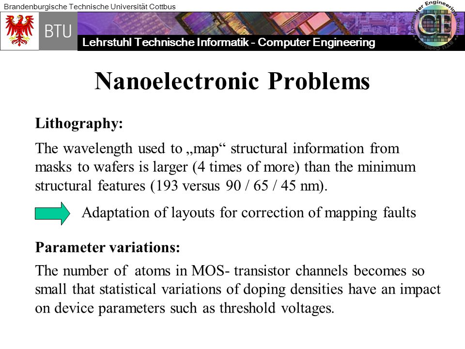 Nanoelectronic Problems