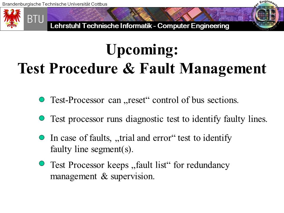 Test Procedure & Fault Management