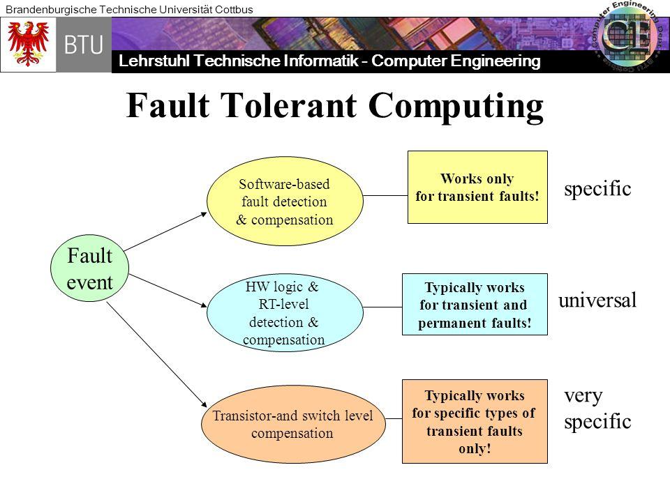 Fault Tolerant Computing