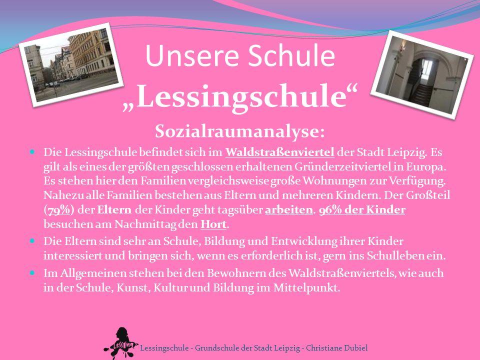 """Unsere Schule """"Lessingschule Sozialraumanalyse:"""