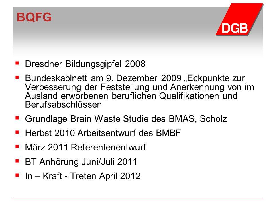 BQFG Dresdner Bildungsgipfel 2008