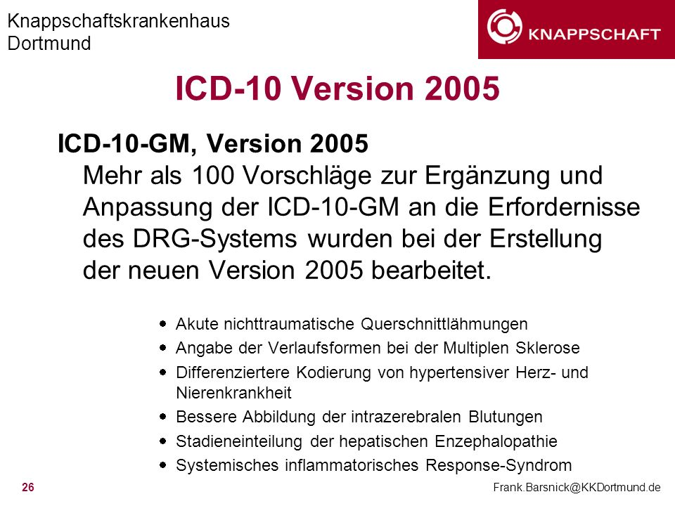 ICD-10 Version 2005