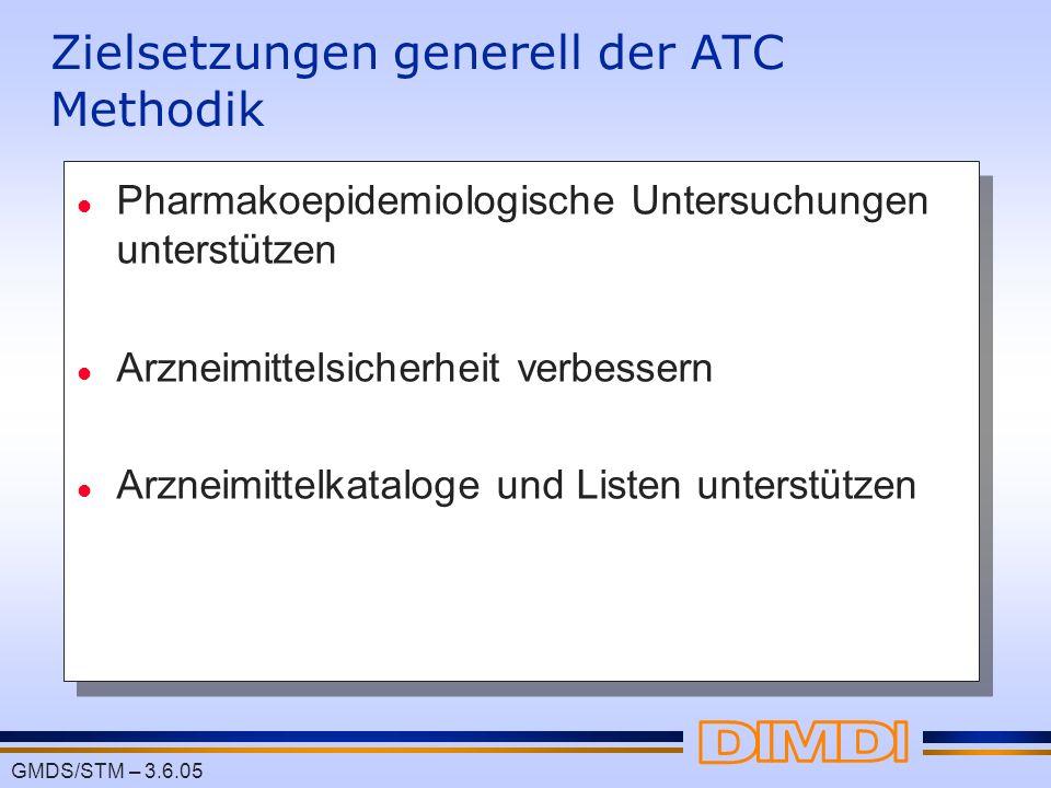 Zielsetzungen generell der ATC Methodik