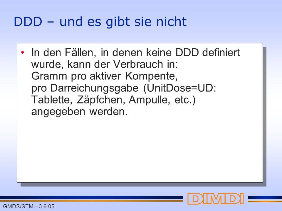 DDD – und es gibt sie nicht