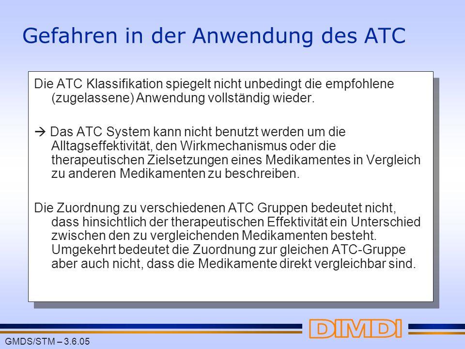 Gefahren in der Anwendung des ATC
