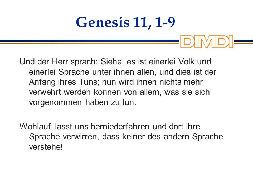 Genesis 11, 1-9