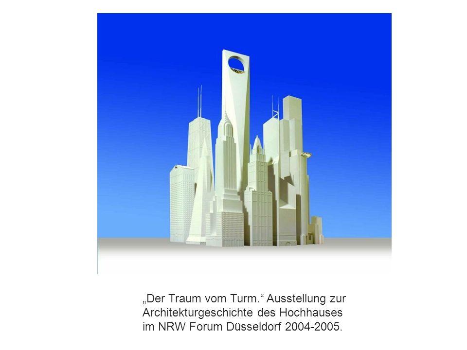 """""""Der Traum vom Turm. Ausstellung zur"""
