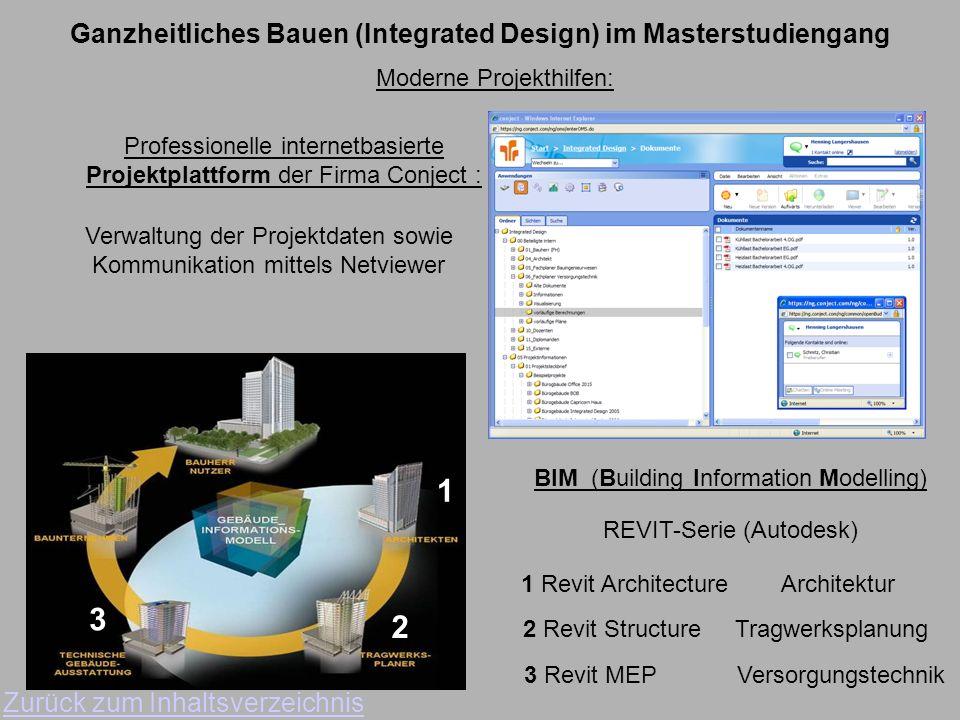 Ganzheitliches Bauen (Integrated Design) im Masterstudiengang