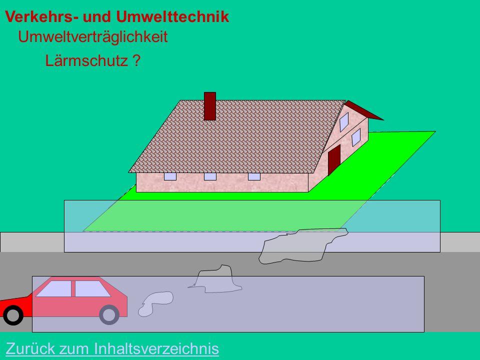 Verkehrs- und Umwelttechnik Bauverfahrenstechnik