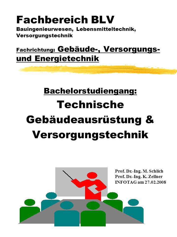 Bachelorstudiengang: Technische Gebäudeausrüstung & Versorgungstechnik