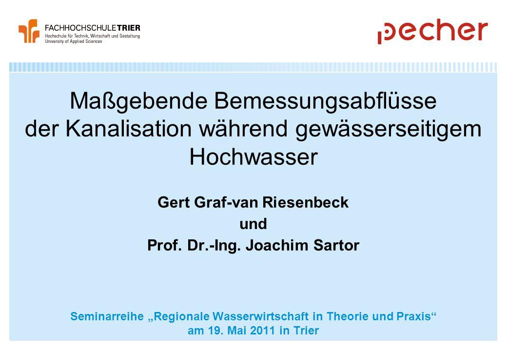 Gert Graf-van Riesenbeck und Prof. Dr.-Ing. Joachim Sartor