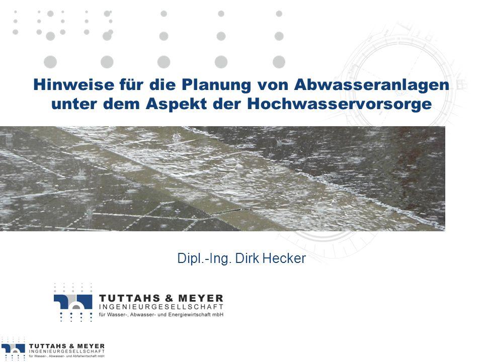 TUTTAHS & MEYER Ingenieurgesellschaft mbH Dipl.-Ing. Dirk Hecker