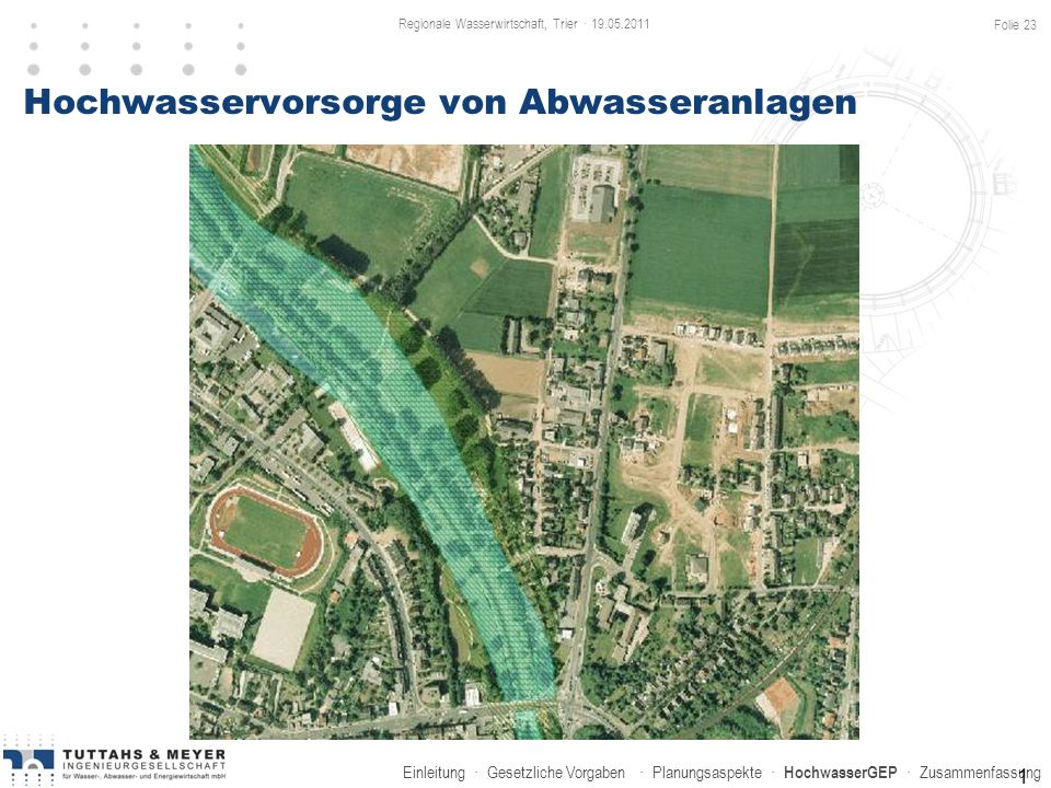Hochwasservorsorge von Abwasseranlagen