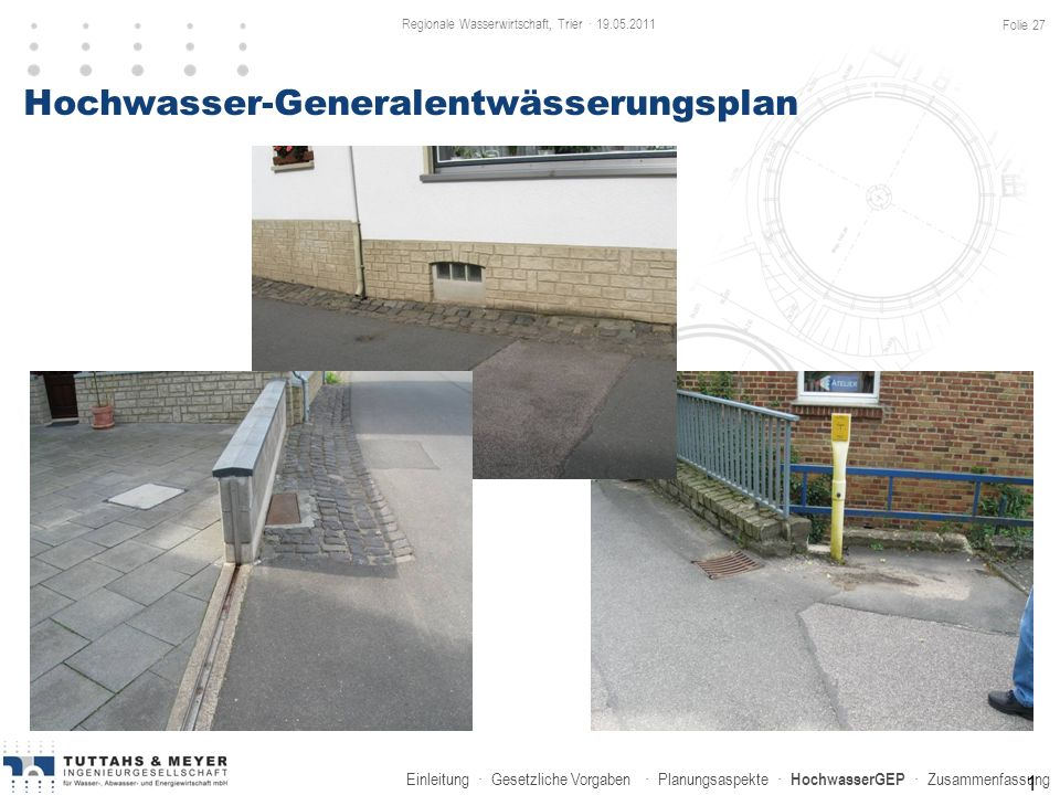 Hochwasser-Generalentwässerungsplan