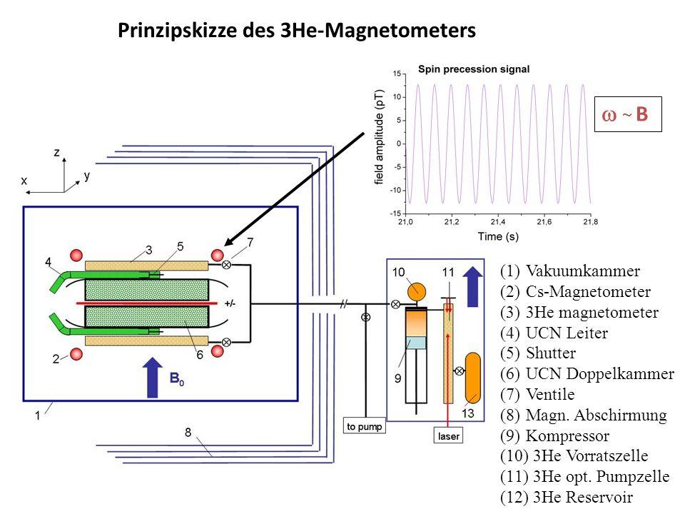 Prinzipskizze des 3He-Magnetometers