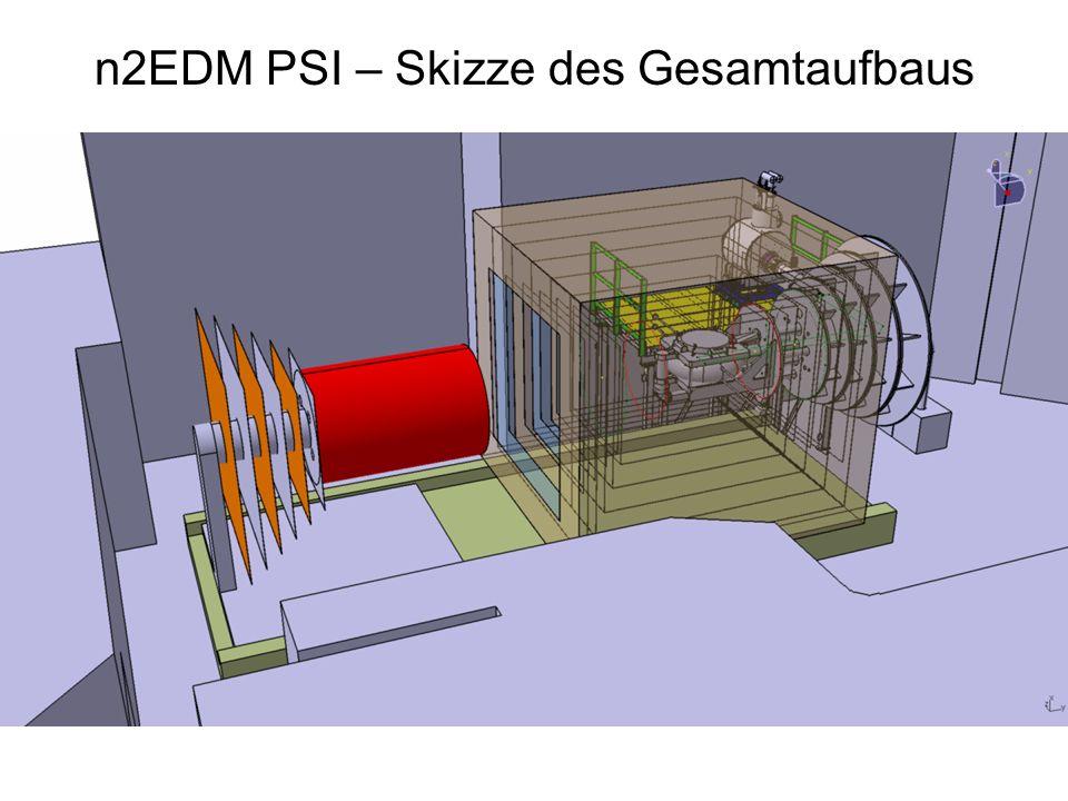 n2EDM PSI – Skizze des Gesamtaufbaus