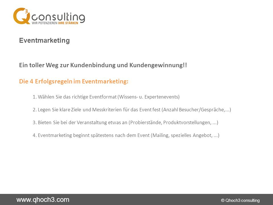 Ein toller Weg zur Kundenbindung und Kundengewinnung!!