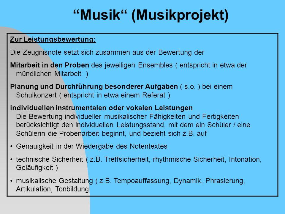 Musik (Musikprojekt)