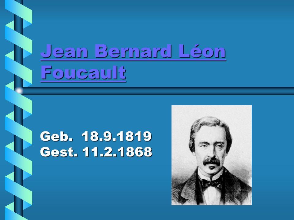 Jean Bernard Léon Foucault