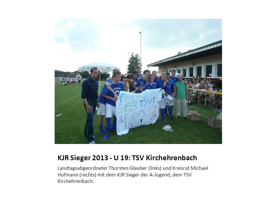KJR Sieger 2013 - U 19: TSV Kirchehrenbach