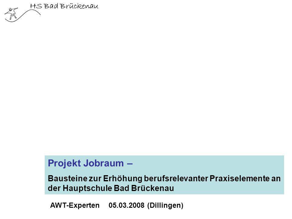 Projekt Jobraum – HS Bad Brückenau