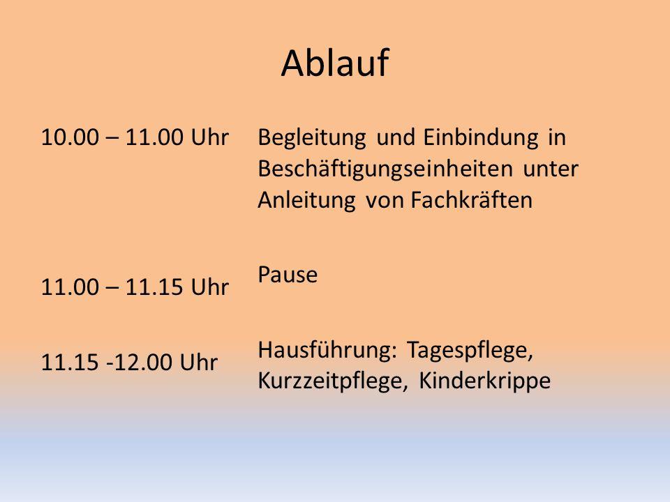 Ablauf 10.00 – 11.00 Uhr 11.00 – 11.15 Uhr 11.15 -12.00 Uhr
