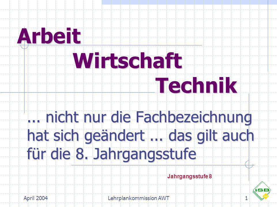 Arbeit Wirtschaft Technik