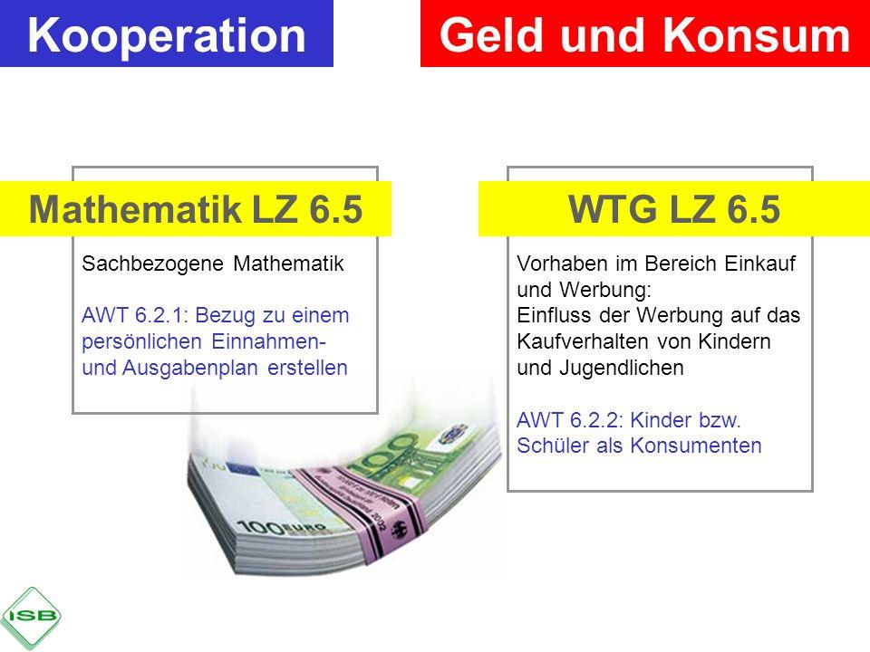 Kooperation Geld und Konsum