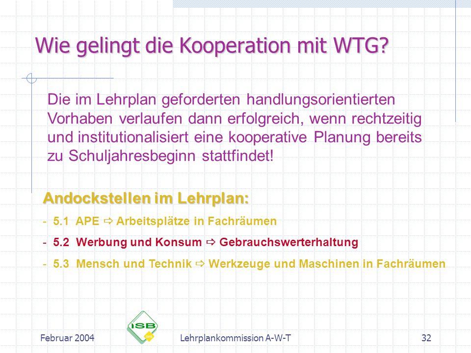 Wie gelingt die Kooperation mit WTG
