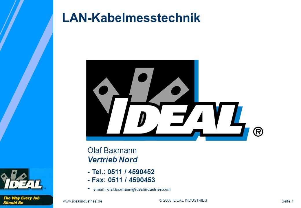 LAN-Kabelmesstechnik