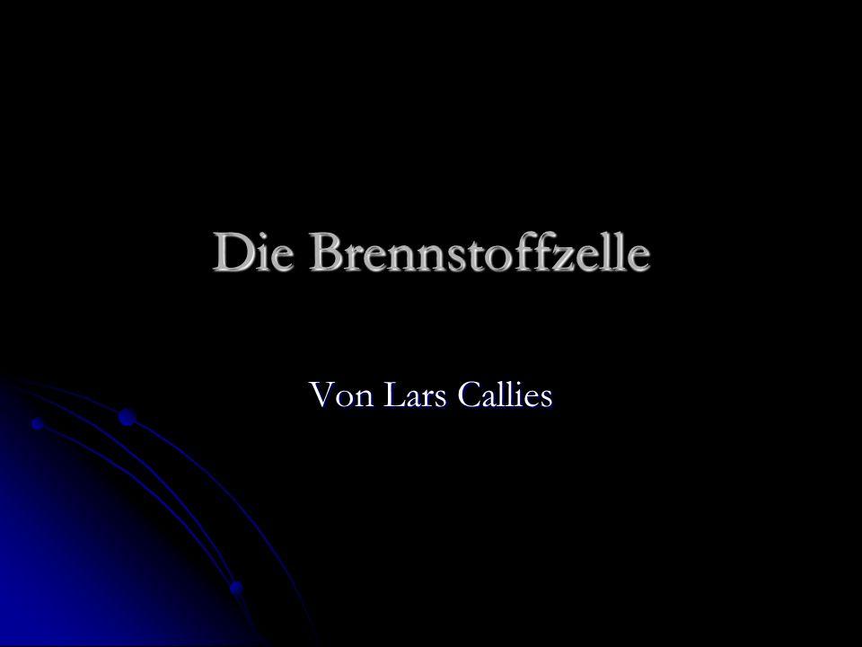 Die Brennstoffzelle Von Lars Callies