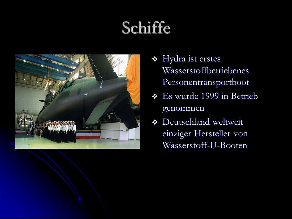 Schiffe Hydra ist erstes Wasserstoffbetriebenes Personentransportboot