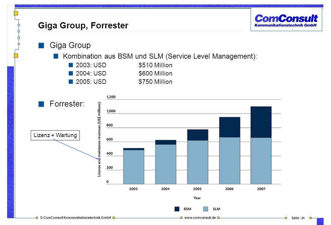 Giga Group, Forrester Giga Group Forrester: