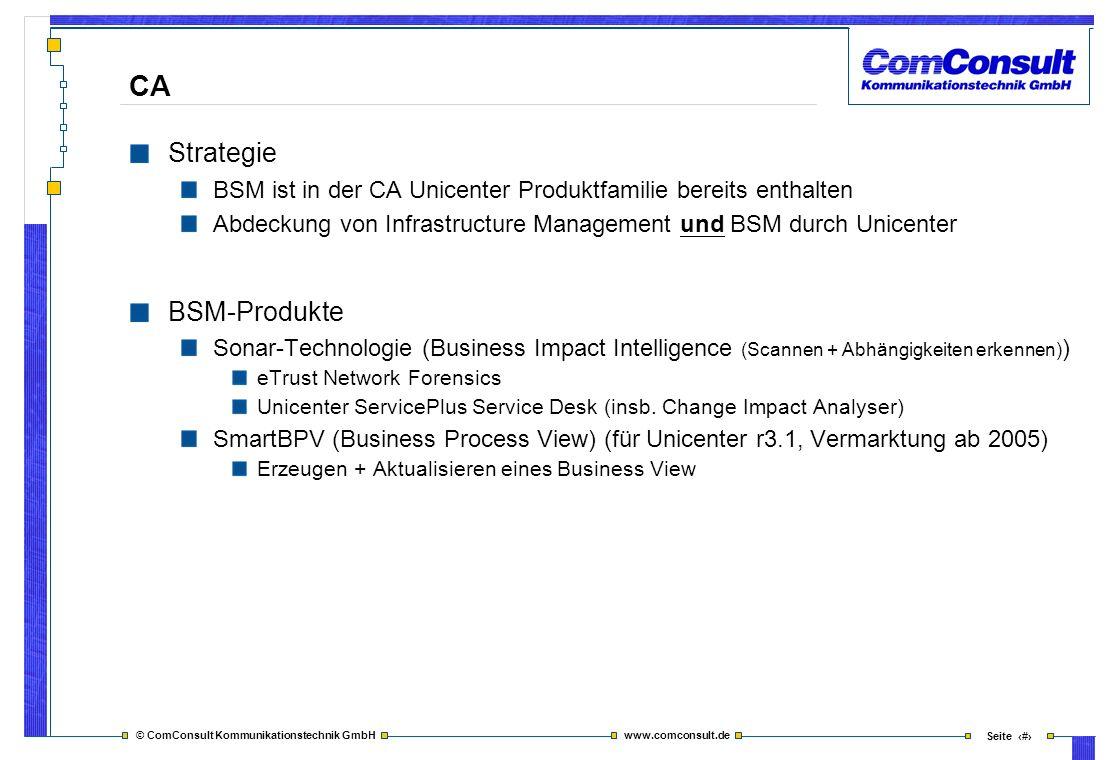 CA Strategie BSM-Produkte