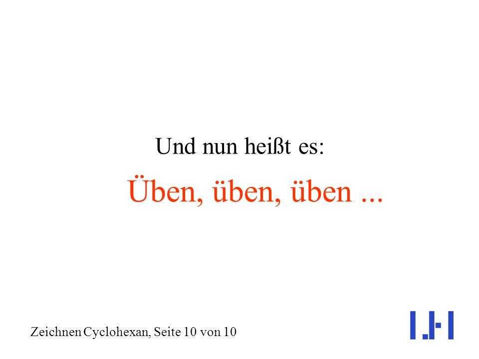 Zeichnen Cyclohexan, Seite 10 von 10