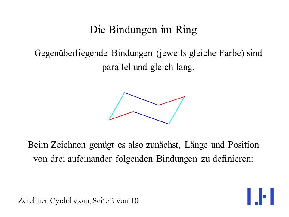 Zeichnen Cyclohexan, Seite 2 von 10