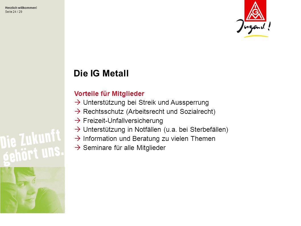 Die IG Metall Vorteile für Mitglieder