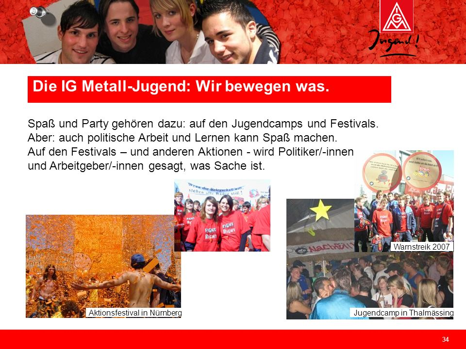 Die IG Metall-Jugend: Wir bewegen was.
