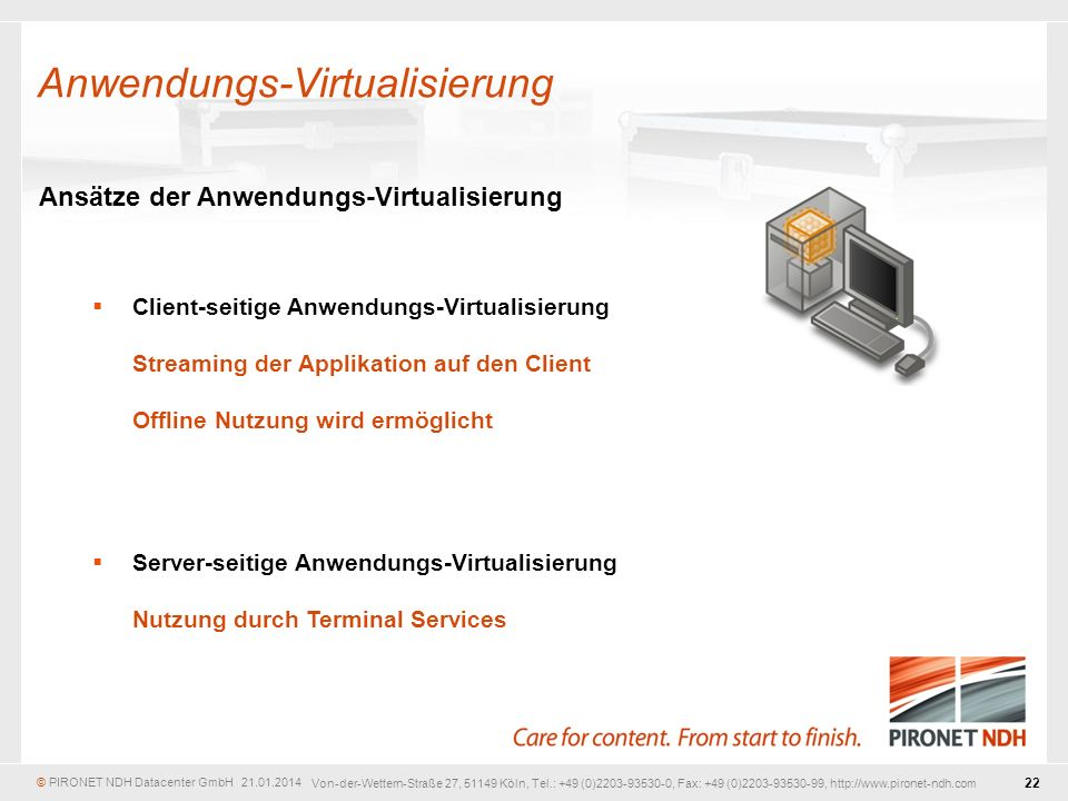 Anwendungs-Virtualisierung