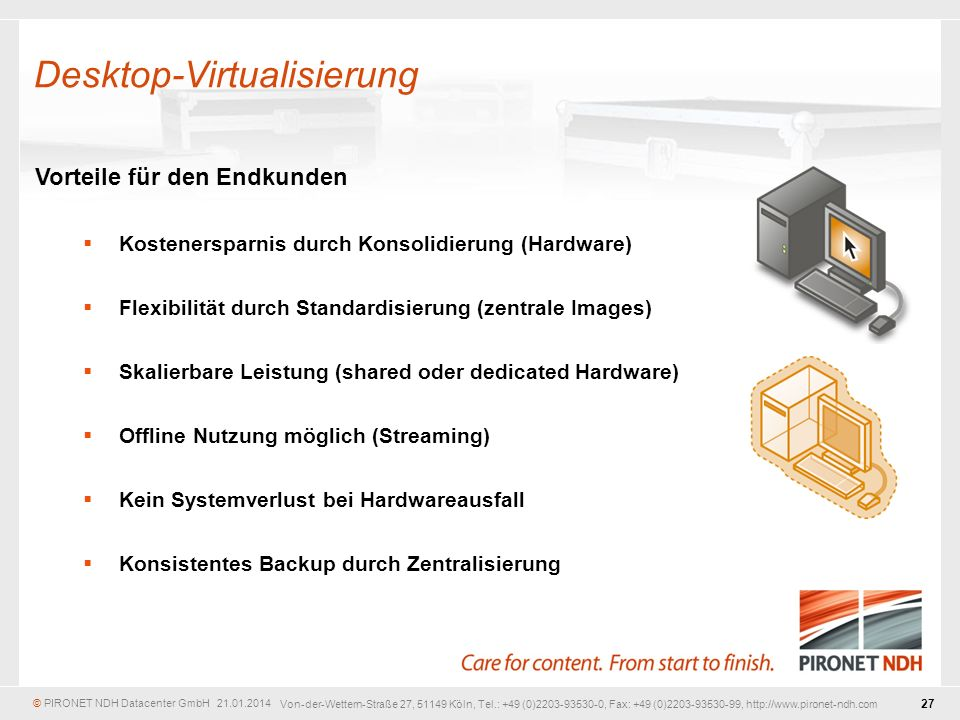 Desktop-Virtualisierung