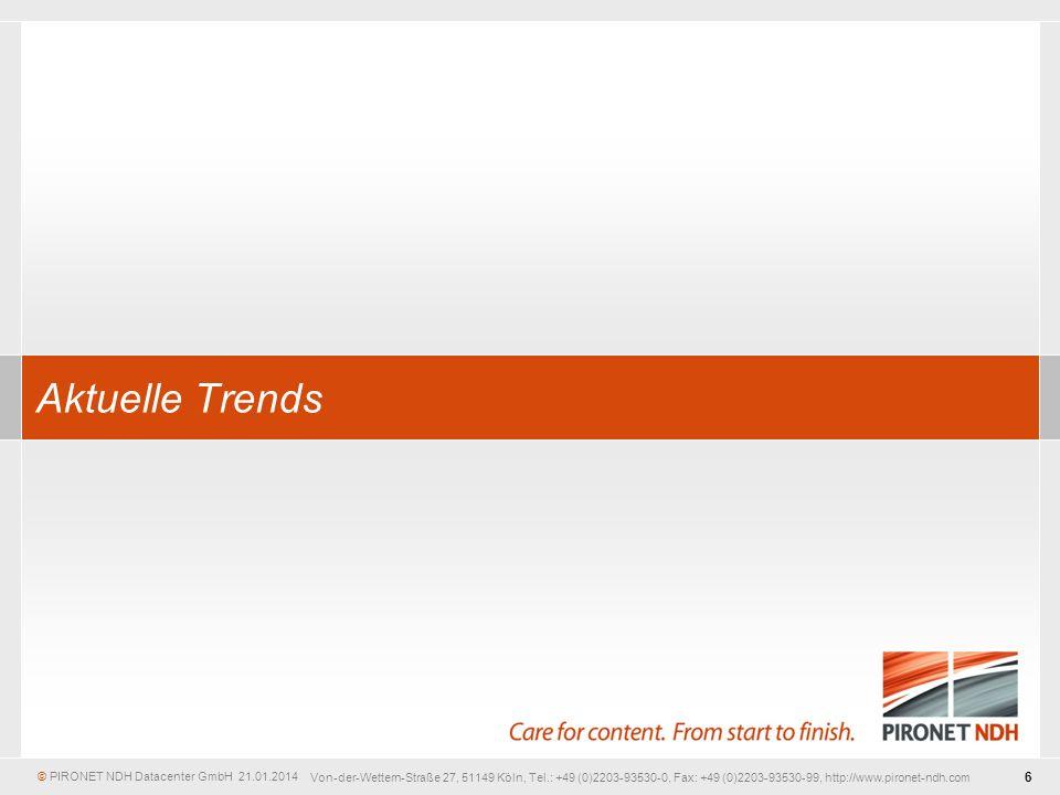 Aktuelle Trends