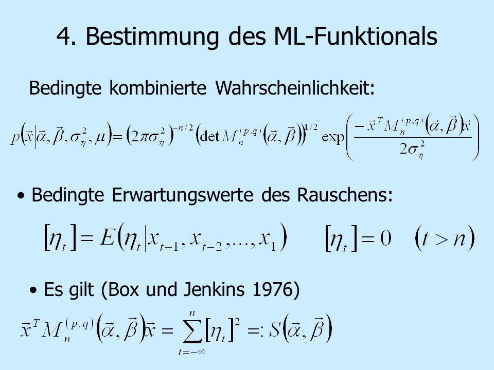 4. Bestimmung des ML-Funktionals