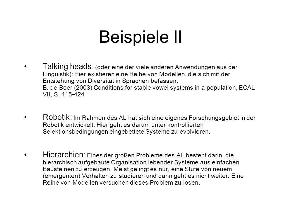 Beispiele II