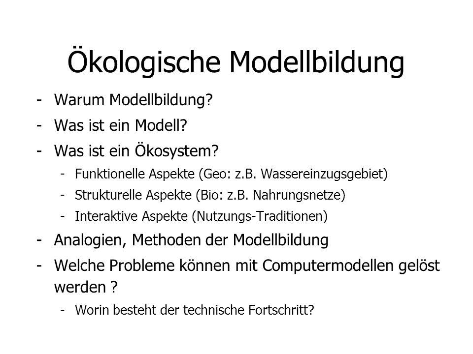 Ökologische Modellbildung