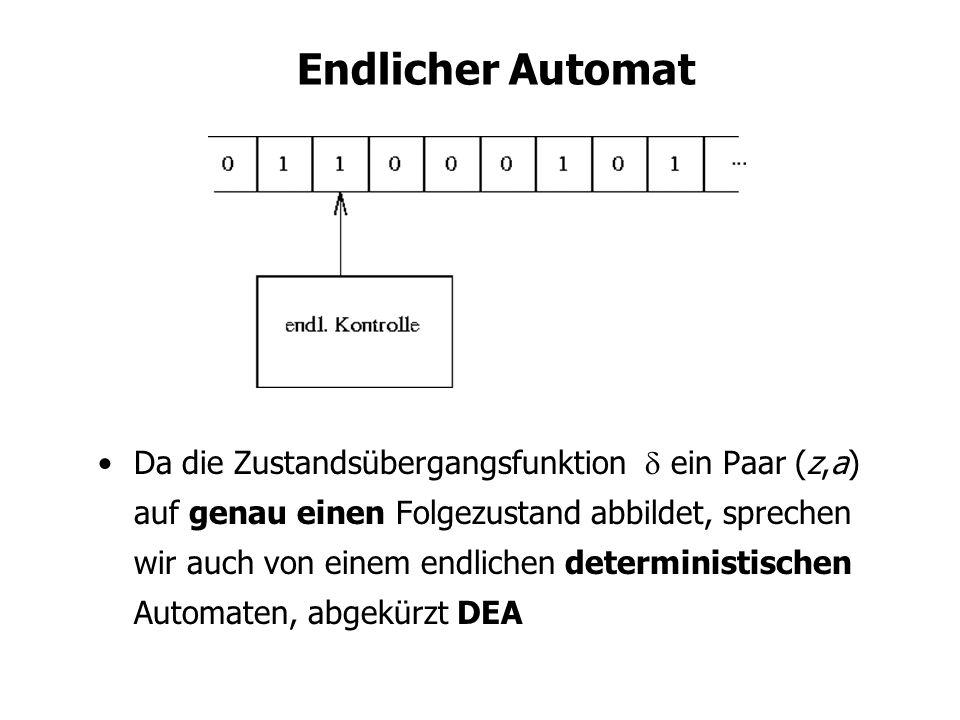 Endlicher Automat