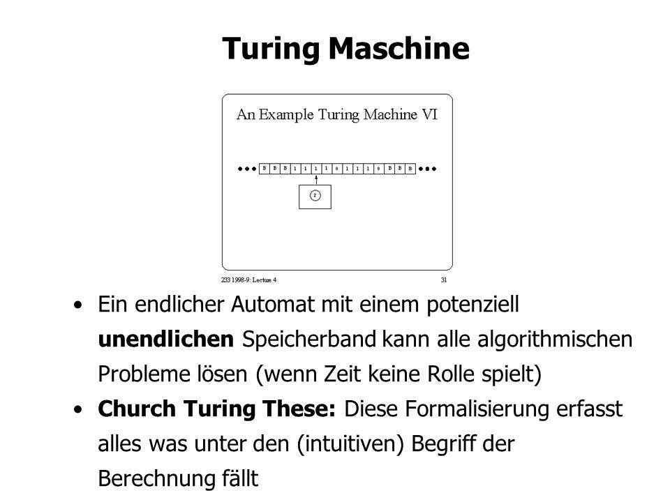 Turing Maschine