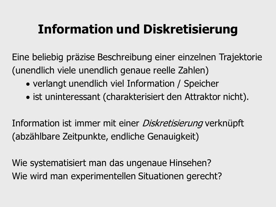 Information und Diskretisierung