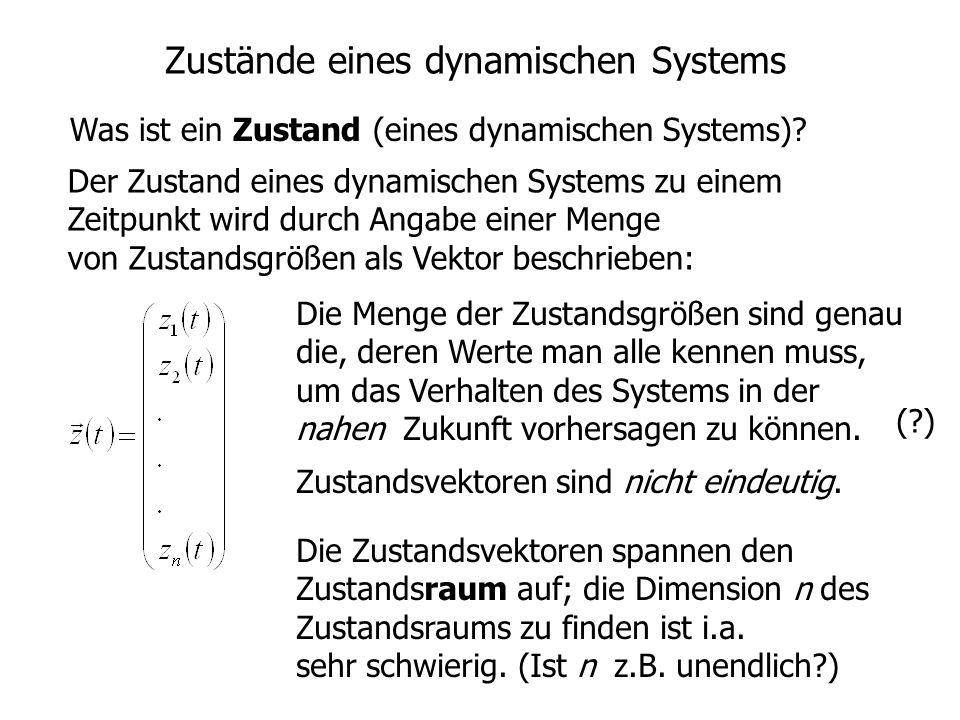 Zustände eines dynamischen Systems