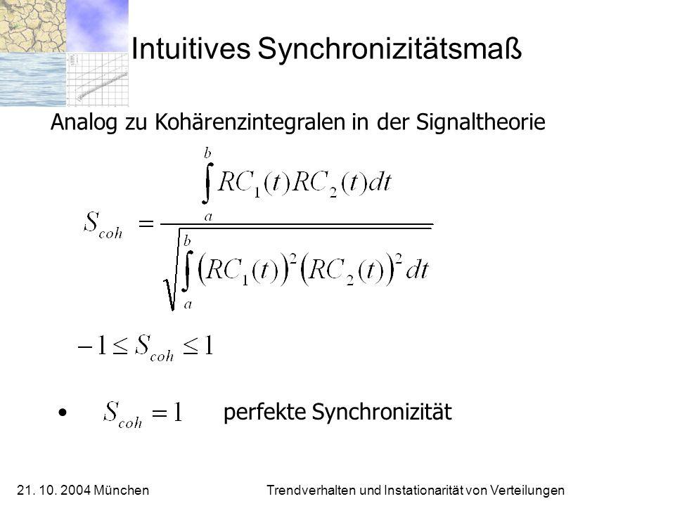 Intuitives Synchronizitätsmaß