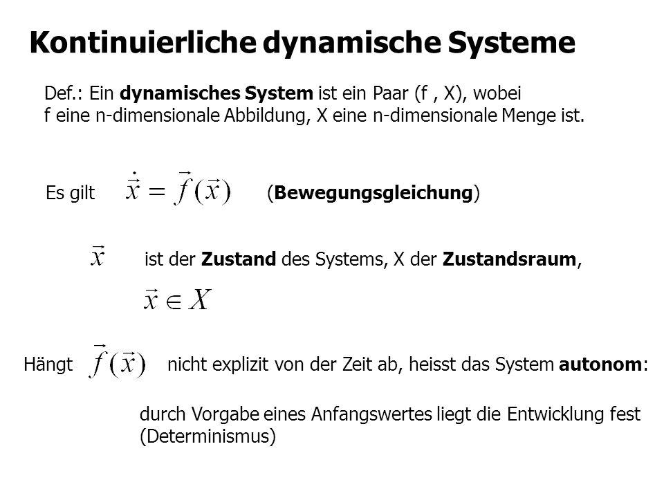 Kontinuierliche dynamische Systeme